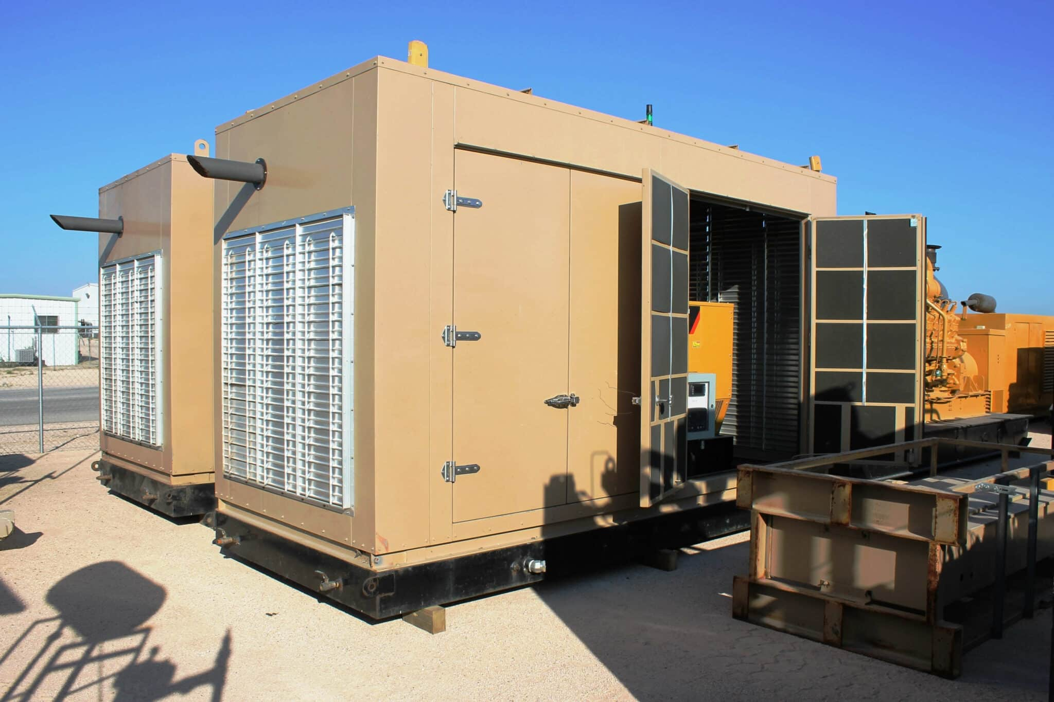Used 190 kW CAT G3406 Natural Gas Continuous Rated – 2 Available!!