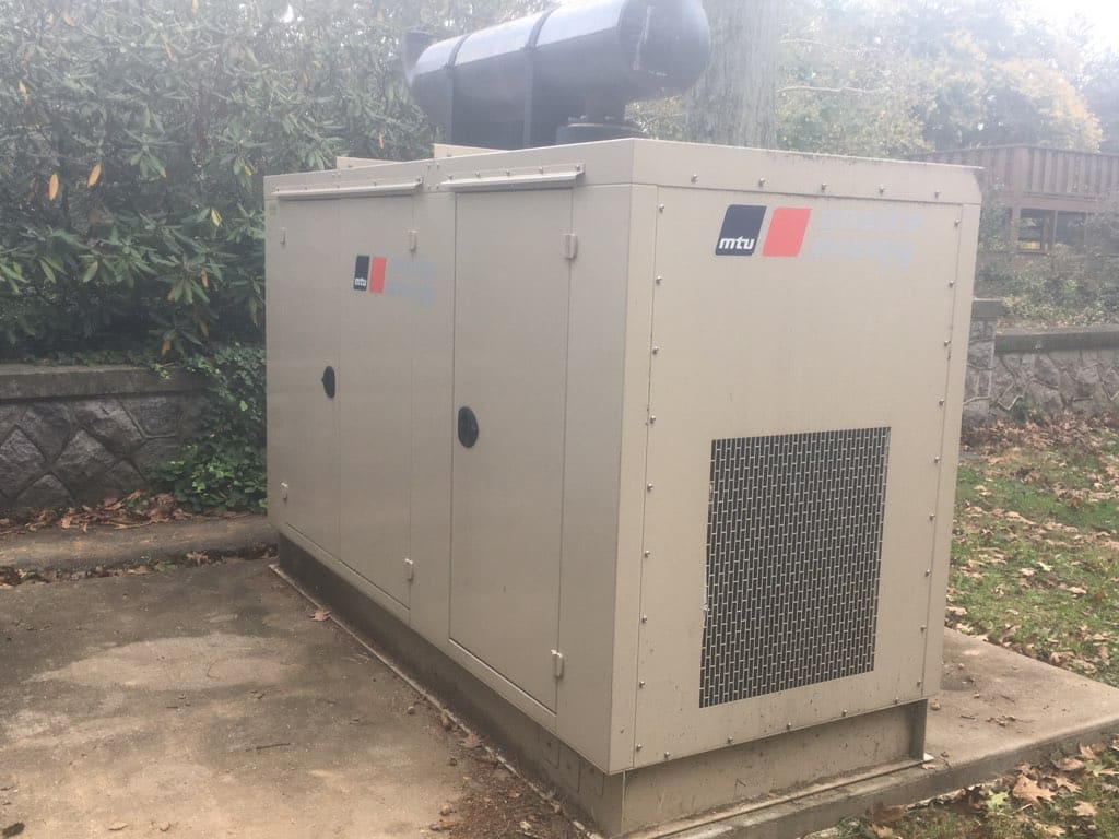Used 85 kW MTU Natural Gas Generator