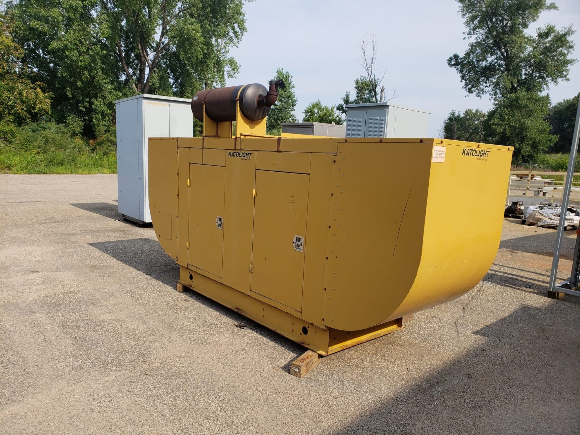 Used 55 kW Katolight Natural Gas Generator