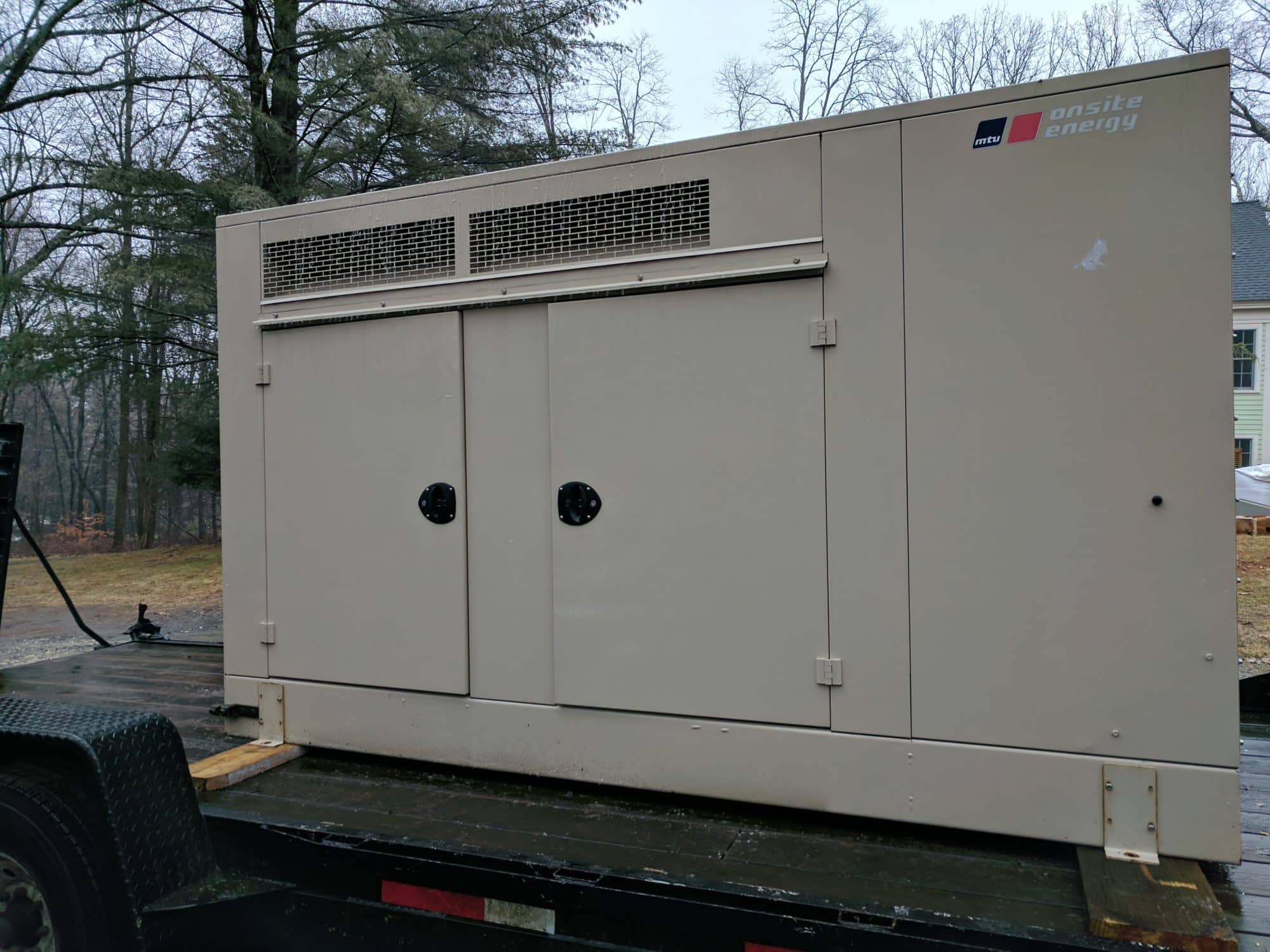 Used 30 kW MTU Natural Gas Generator