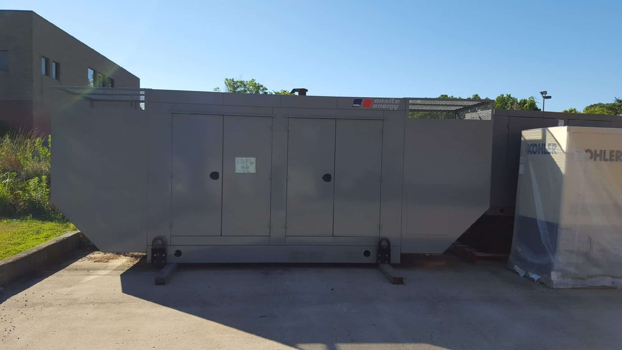 Used 200 kW MTU Natural Gas Generator – EPA Certified