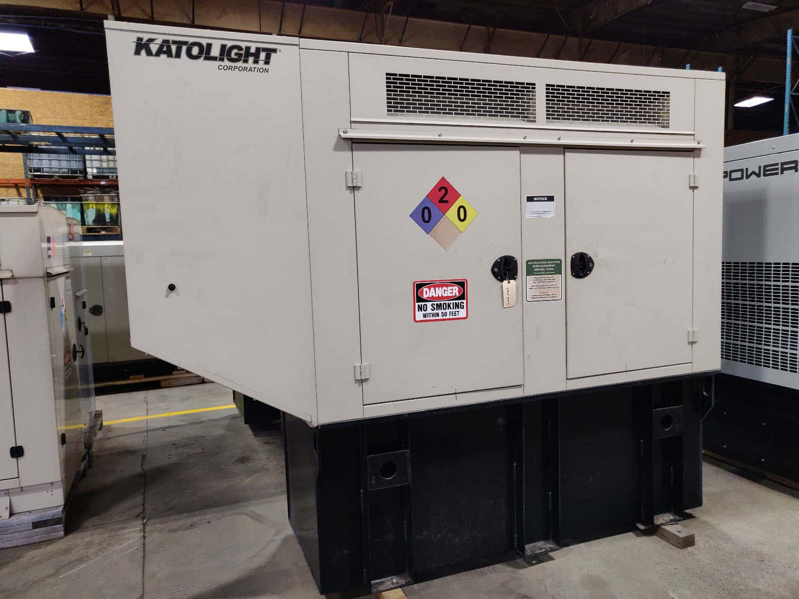 Used 60 kW Katolight/John Deere Diesel Generator – EPA Tier 2 Rated