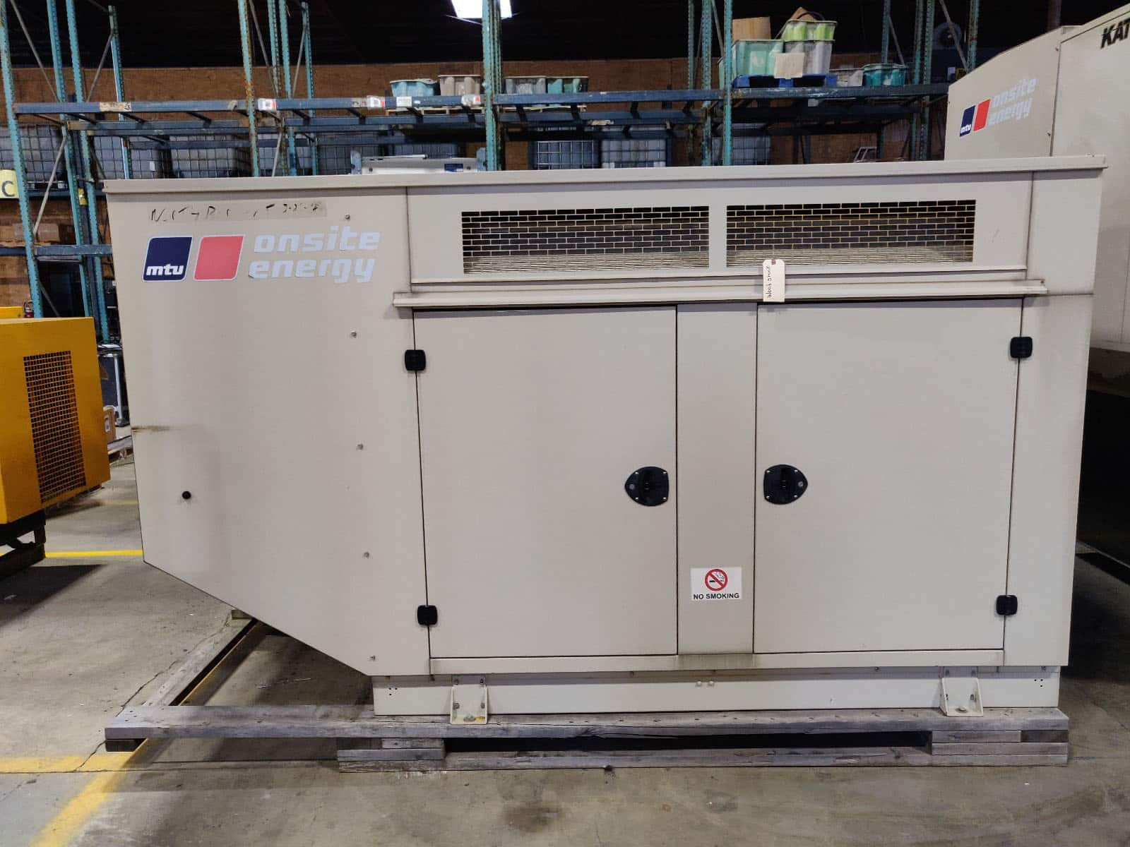 Used 60 kW MTU Natural Gas Generator – SOLD!
