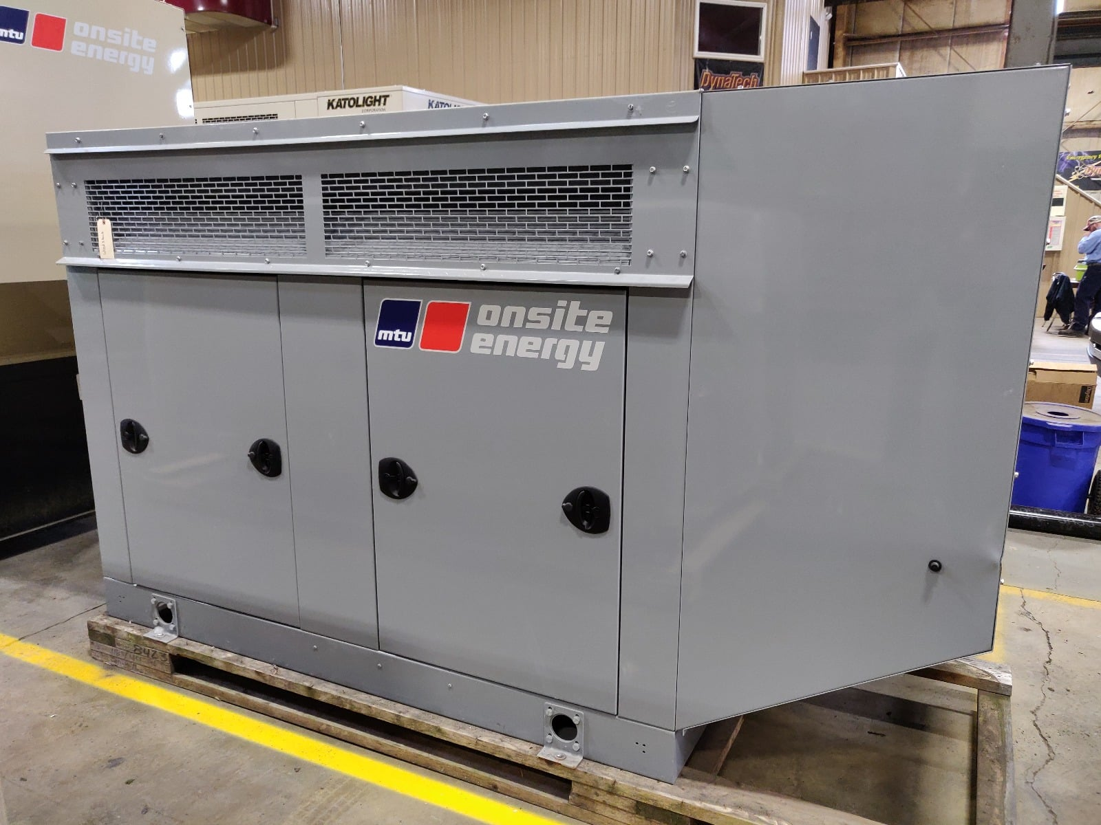 New 30 kW MTU Natural Gas Generator – SOLD!
