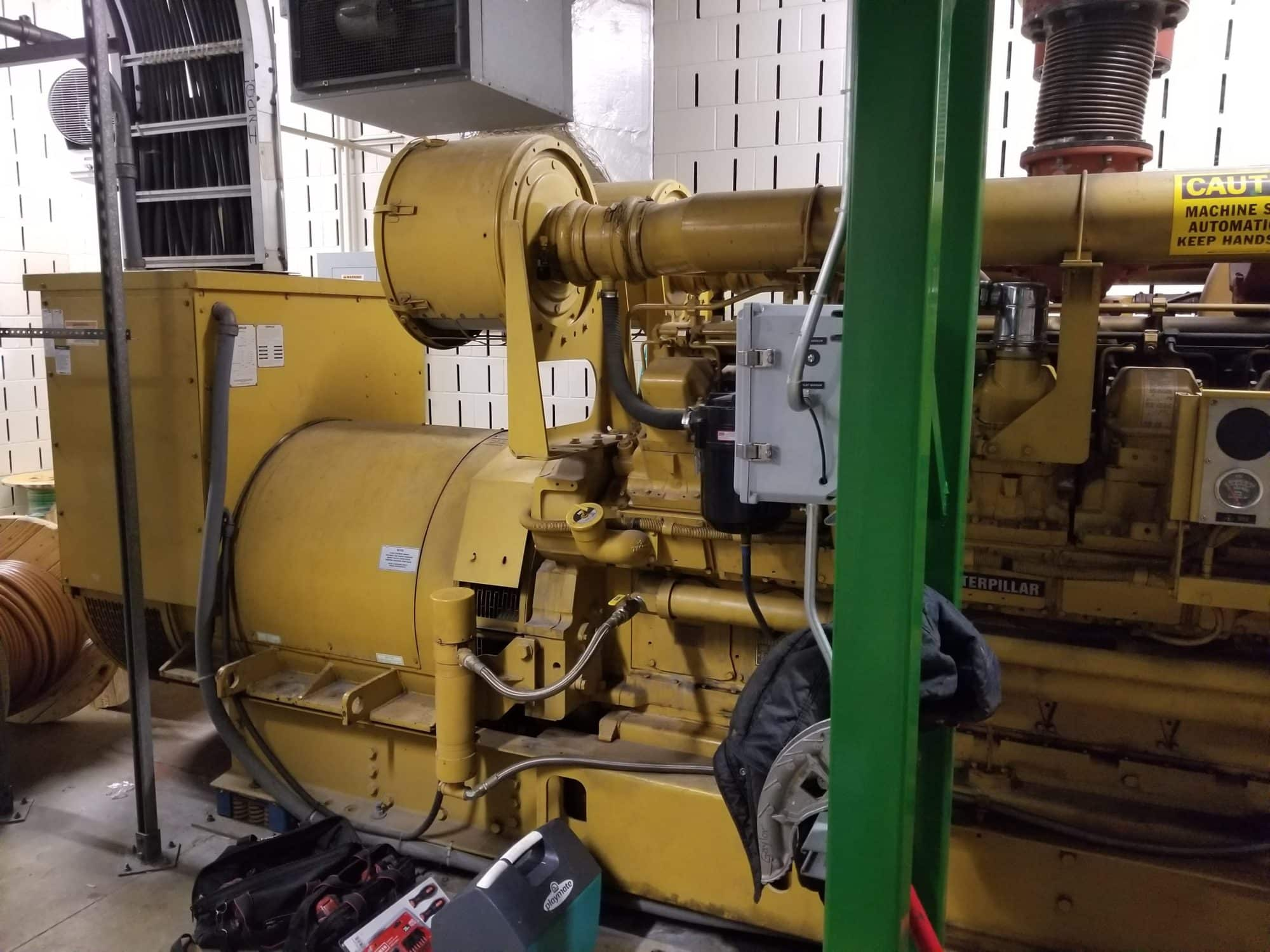 Used 1500 kW CAT 3516 Diesel Generator – SOLD!