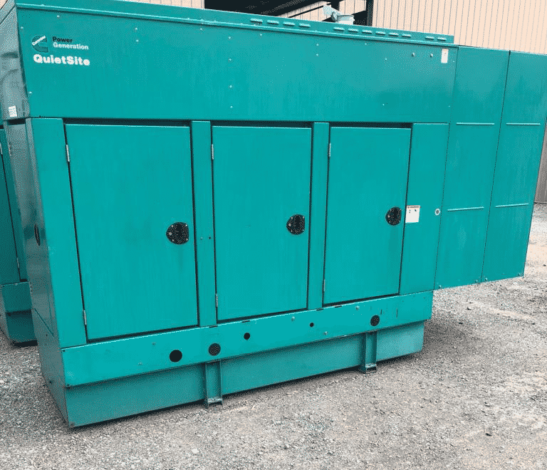 Used 100 kW Cummins DGDB Diesel Generator – SOLD!