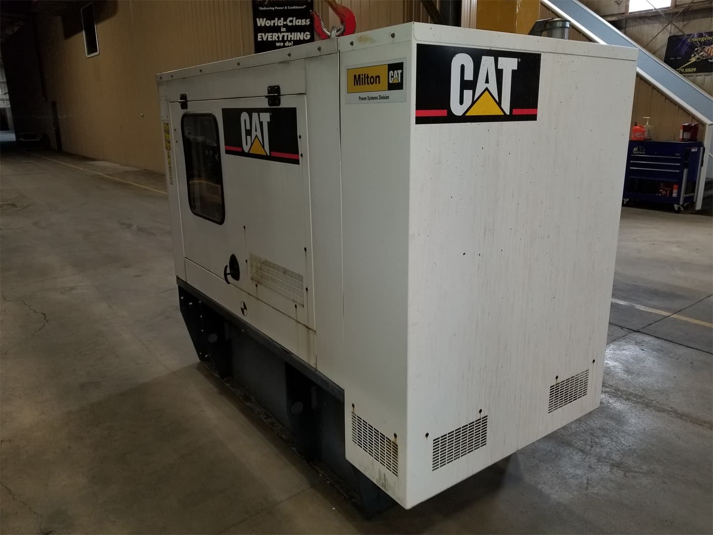 Used 60 kW CAT D60-4 Diesel Generator – EPA Tier 3