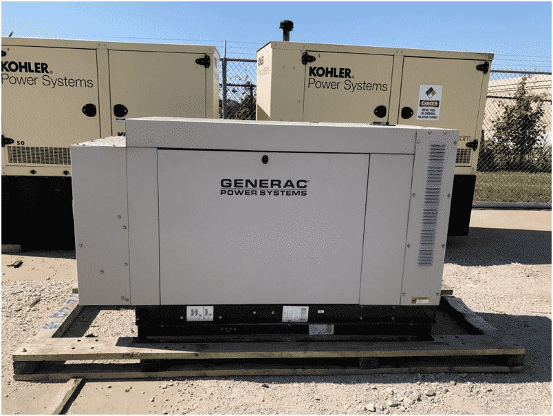 Used 30 kW Generac SG030 Natural Gas Generator – COMING IN!