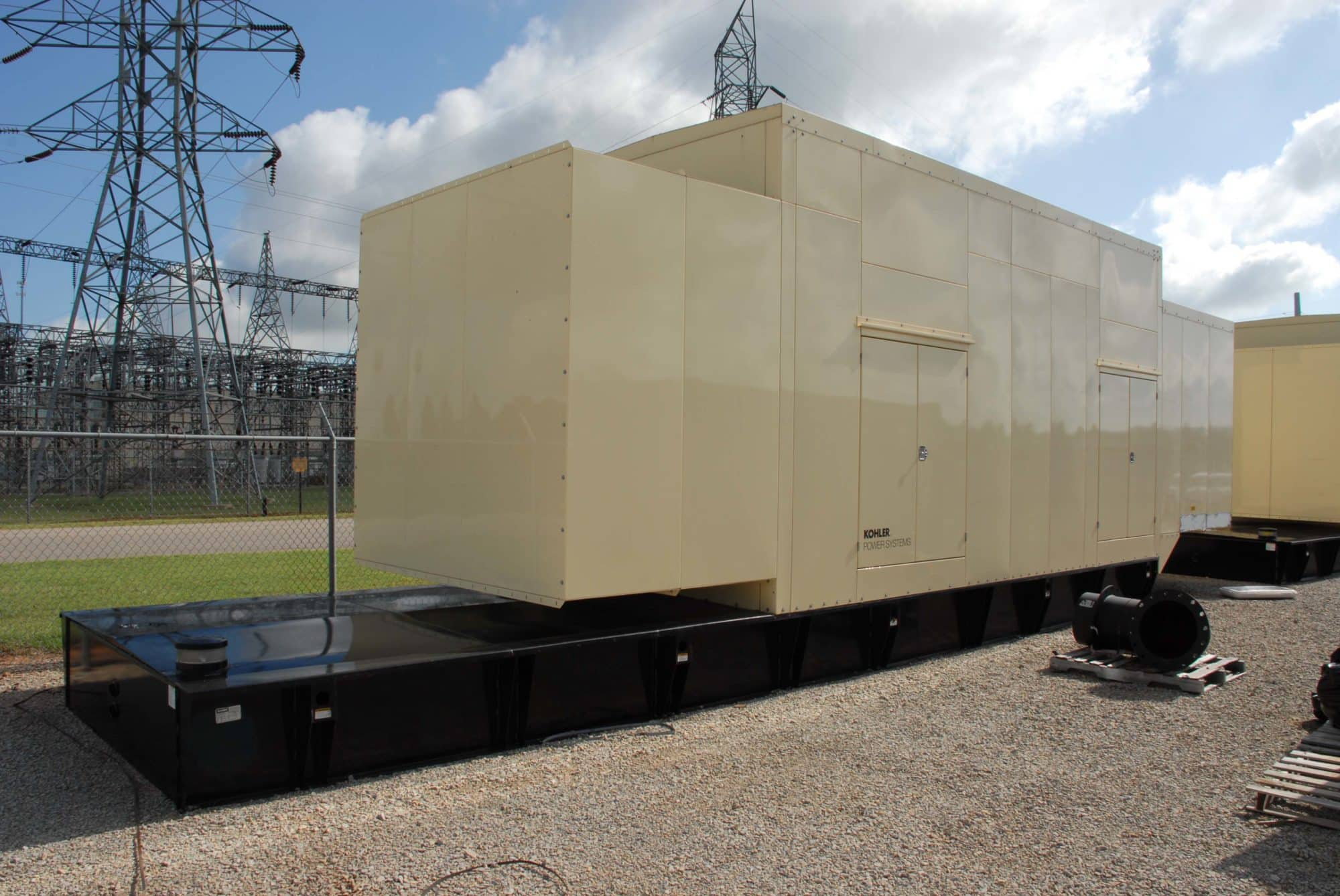 Used 2000 kW Kohler 2000REOZMB 4160V Diesel Generator – EPA Tier 2 – 16 Available!